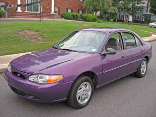 Picture of 1997 Ford Escort 4 Dr LX Sedan