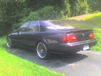 1991 Acura Legend L, 1991 Acura Legend 4 Dr L Sedan picture, exterior