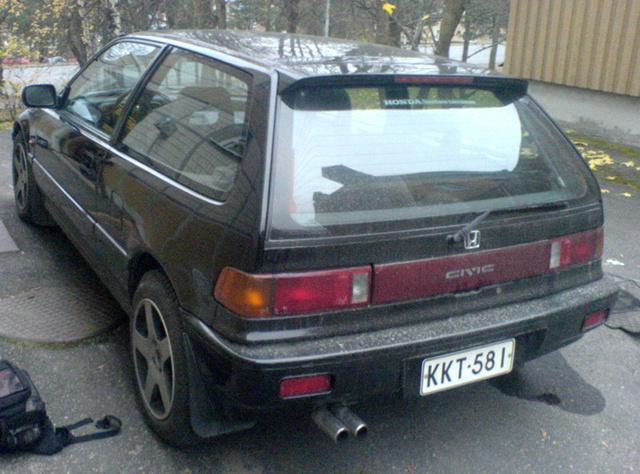 Charming 1988 Honda Civic