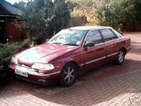 1993 Ford Scorpio Overview
