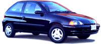 1999 Pontiac Firefly Overview