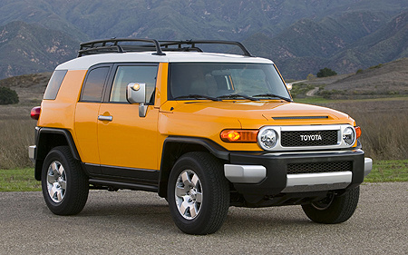 2008 toyota fj cruiser overview cargurus. Black Bedroom Furniture Sets. Home Design Ideas