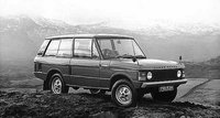 1975 Land Rover Range Rover Overview