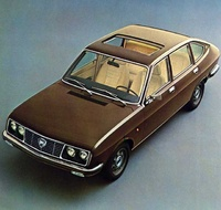 1972 Lancia Beta Overview
