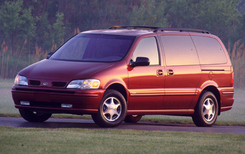 2000 Oldsmobile Silhouette 4 Dr Premiere Passenger Van Extended picture