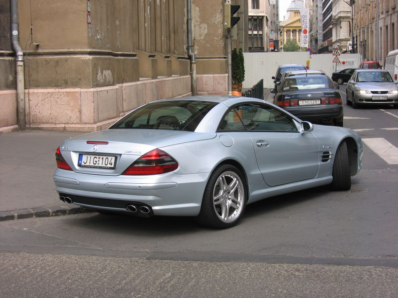 Picture of 2006 mercedes benz sl class sl55 amg exterior for 2006 mercedes benz sl55 amg