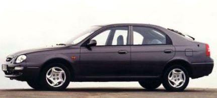 2001 Kia Spectra GS picture