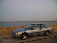 1989 Honda Accord DX Coupe, 1989 Honda Accord Coupe DX picture, exterior