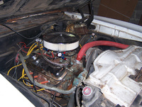 1969 Pontiac Le Mans picture, engine