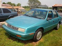 1993 Plymouth Sundance Overview