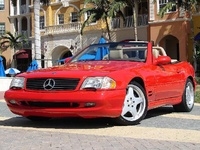 1998 Mercedes-Benz SL-Class, 2000 Mercedes-Benz SL500 STD picture, exterior