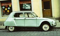 1971 Citroen Dyane Overview