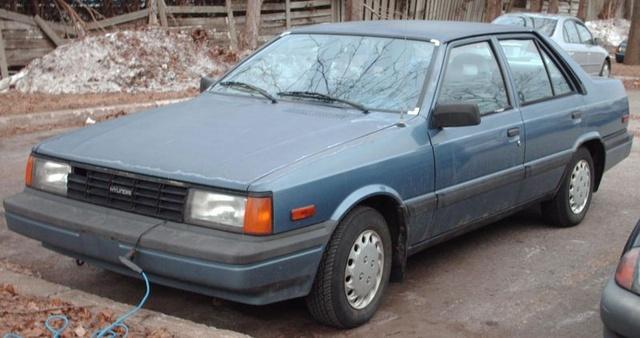 Picture of 1987 Hyundai Stellar, exterior