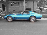 1968 Chevrolet Corvette Convertible picture, exterior