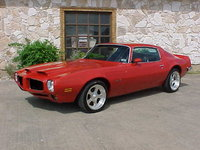 1973 Pontiac Firebird Overview