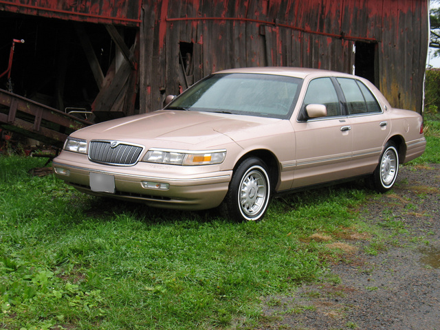 Picture of 1996 Mercury Grand Marquis 4 Dr LS Sedan