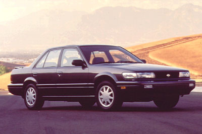Picture of 1992 Nissan Stanza SE Sedan, exterior, gallery_worthy