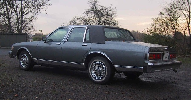 86 Chevy Caprice. 1988 Chevrolet Caprice picture