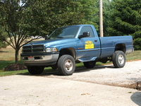 1994 Dodge Ram Pickup 3500, 2008 Dodge Ram Pickup 3500 SLT picture, exterior