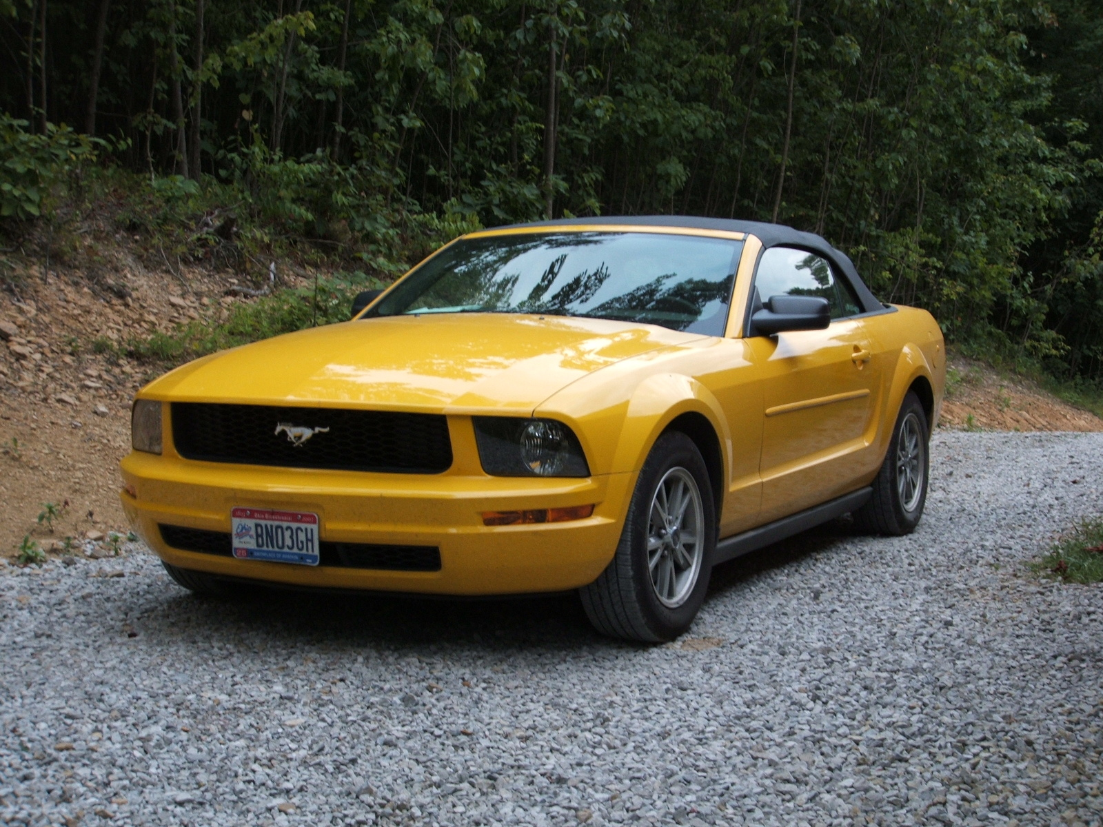 2005 ford mustang v6 convertible for sale. Black Bedroom Furniture Sets. Home Design Ideas