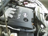 2002 Nissan Altima 3.5 SE picture, engine
