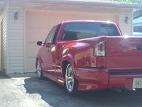 2000 Chevrolet S-10 2 Dr LS Xtreme Extended Cab Stepside SB picture, exterior