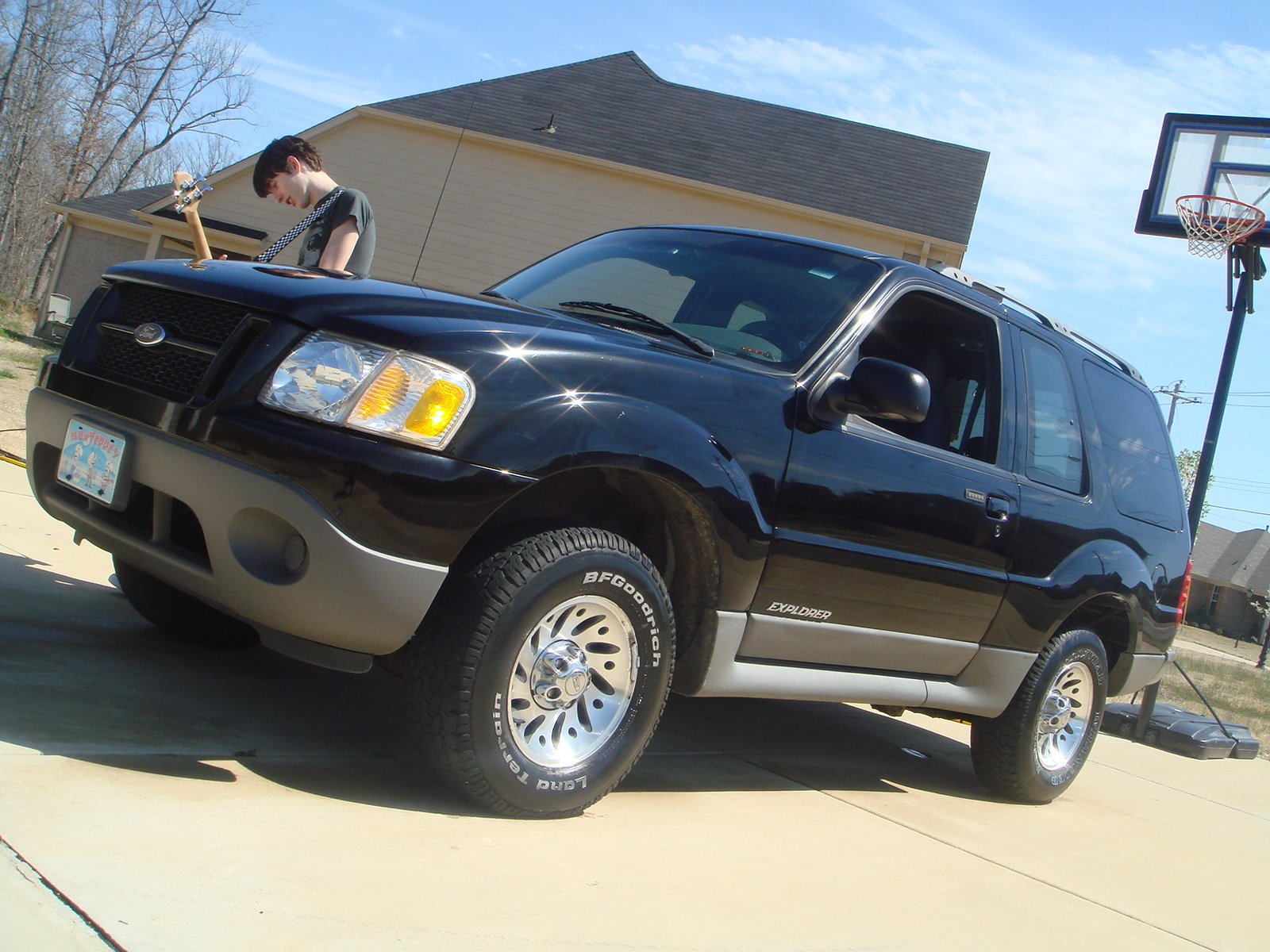 picture of 2002 ford explorer sport 2 dr std suv exterior. Cars Review. Best American Auto & Cars Review