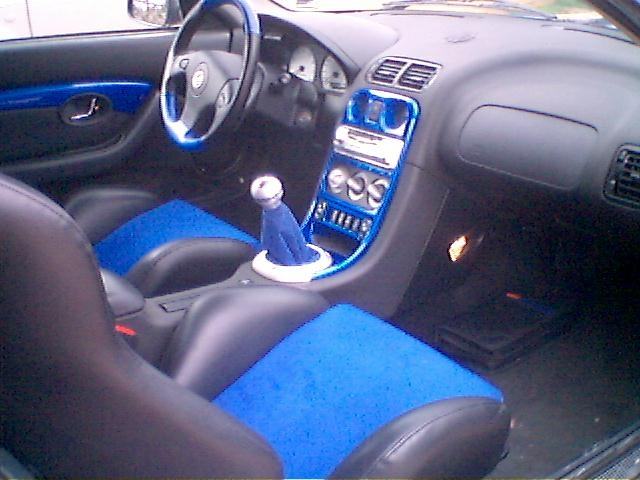 Picture of 2000 MG F, interior