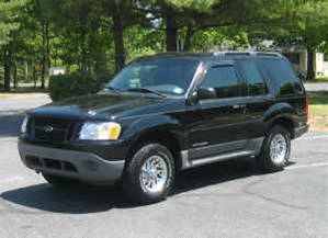 2001 Ford Explorer Sport 2 Dr STD 4WD SUV picture