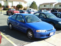 Picture of 2002 Mitsubishi Mirage DE Coupe, exterior