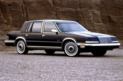1989 Chrysler New Yorker, Newest Addition to my car collection, exterior