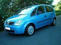2004 Vauxhall Meriva Overview