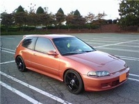 1995 Honda Civic DX Hatchback, 1995 Honda Civic 2 Dr DX Hatchback picture, exterior