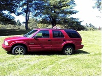 1999 Oldsmobile Bravada Overview