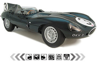 1954 Jaguar D-Type Overview