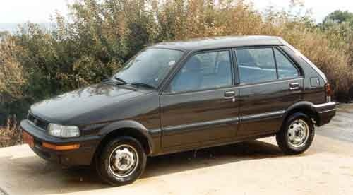 Picture of 1992 Subaru Justy 2 Dr GL Hatchback, exterior