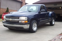 2000 Chevrolet Silverado 1500 LS  Stepside Short Bed 2WD picture, exterior