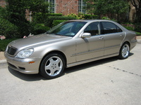 2005 Mercedes-Benz S-Class 4 Dr S500 Sedan, 2005 Mercedes-Benz S500 STD picture, exterior