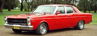 1966 Ford Fairlane, Picture of 1971 Ford Fairlane, exterior