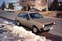 1978 Ford Fiesta, Picture of 1980 Ford Fiesta, exterior