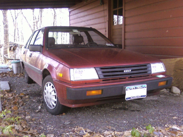 Picture of 1987 Mitsubishi Colt, exterior, gallery_worthy