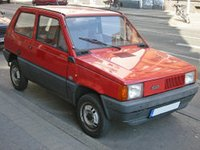 1984 Fiat Panda Overview