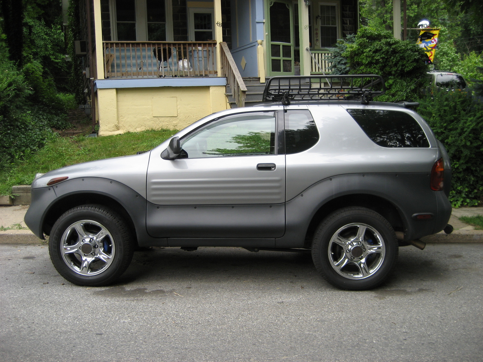 picture of 2001 isuzu vehicross 2 dr std 4wd suv exterior. Cars Review. Best American Auto & Cars Review