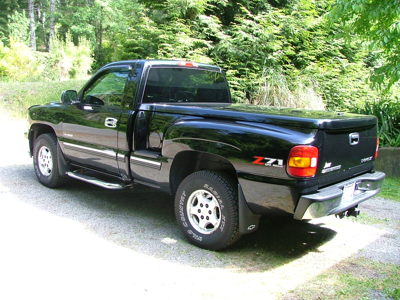 picture of 2001 chevrolet silverado 1500 ls sb 4wd exterior. Cars Review. Best American Auto & Cars Review