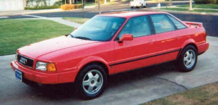 Audi 90. 1990 Audi 90 Quattro Sedan