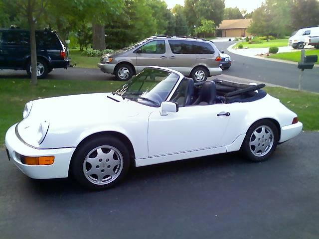 Picture of 1991 Porsche 911 Carrera Convertible, exterior, gallery_worthy