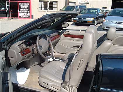 2002 Chrysler Sebring LXi Convertible picture, interior