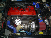 1996 Mitsubishi Eclipse RS, 1996 Mitsubishi Eclipse 2 Dr RS Hatchback picture, engine