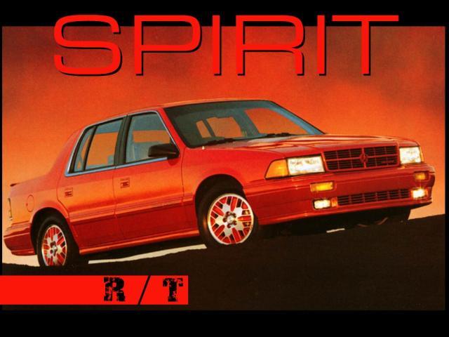 Dodge Spirit 1992 Ruflovocomz