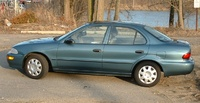 1995 Geo Prizm 4 Dr STD Sedan picture, exterior
